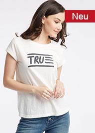 Bedrucktes T-Shirt Damen